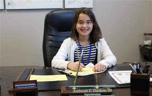 Superintendent for a Day!